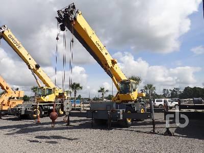 2003 GROVE RT530E 30 Ton 4x4 Rough Terrain Crane