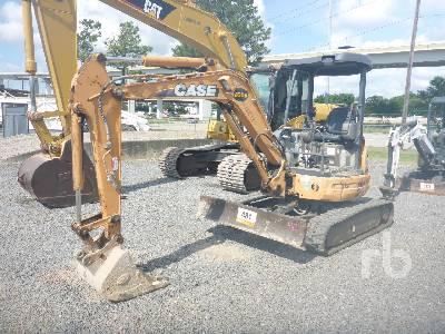 CASE CX36B Mini Excavator (1 - 4.9 Tons)