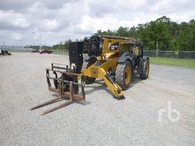 2018 CATERPILLAR 10000 Lb 4x4x4 Telescopic Forklift