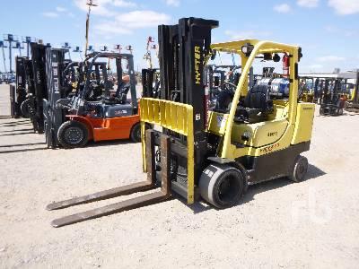 2012 HYSTER S120FT-PRS 9000 Lb Forklift