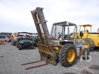 1994 JCB 930 6000 Lb Rough Terrain Forklift