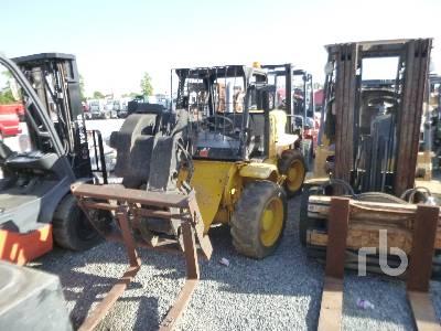 JCB 520 5000 Lb 4x4x4 Telescopic Forklift