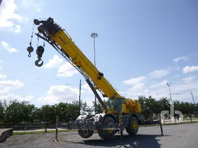 2012 GROVE RT890E 90 Ton 4x4x4 Rough Terrain Crane