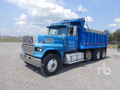 1987 FORD LTL900 Dump Truck (Tri/A)