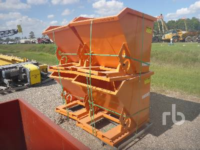 Unused Qty Of 4 Suihe 1 CY Self Dumping Ho Container Equipment - Other