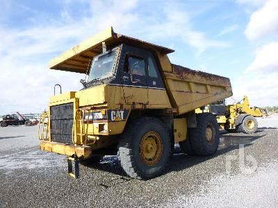 2007 CATERPILLAR 769D 37 Ton Rock Truck