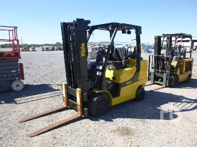 2014 YALE GLC80 6350 Lb Forklift