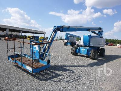 2014 GENIE Z80/60 4x4 Articulated Boom Lift Parts/Stationary Construction-Other