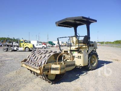 INGERSOLL-RAND Vibratory Padfoot Compactor