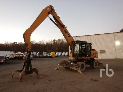 2011 CATERPILLAR M318D Mobile Excavator