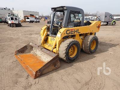 2002 GEHL 7800 Skid Steer Loader