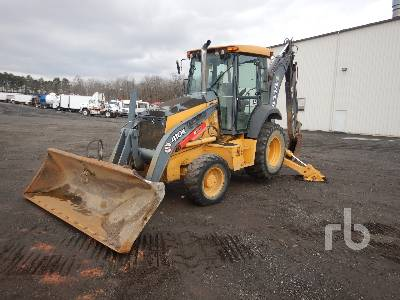 2013 JOHN DEERE 410K 4x4 Loader Backhoe
