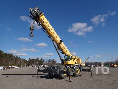2004 GROVE RT890E 90 Ton 4x4 Rough Terrain Crane