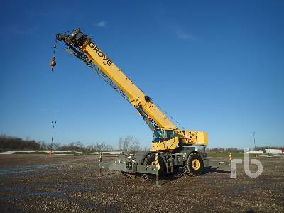 2006 GROVE RT760E2 60 Ton Rough Terrain Crane
