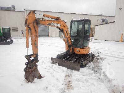 2010 CASE CX36B Mini Excavator (1 - 4.9 Tons)