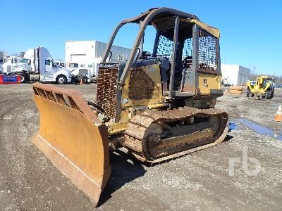 2009 JOHN DEERE 650J LT Crawler Tractor