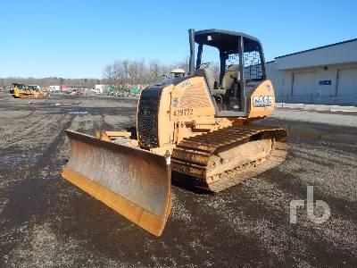 2010 CASE 650L LGP Crawler Tractor