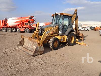 2001 JOHN DEERE 410G 4x4 Loader Backhoe