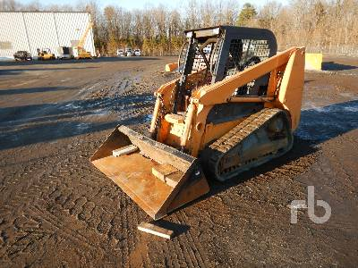 2009 CASE 420CT Compact Track Loader