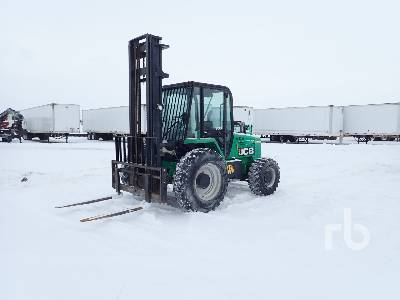 2013 JCB 930 6000 Lb 4x4 Rough Terrain Forklift
