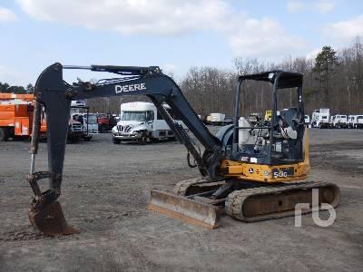 2015 JOHN DEERE 50G Midi Excavator (5 - 9.9 Tons)