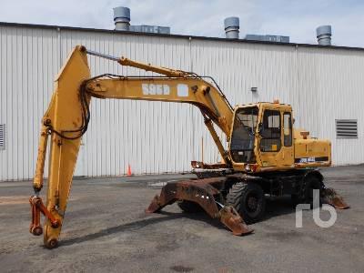 1994 JOHN DEERE 595D Mobile Excavator