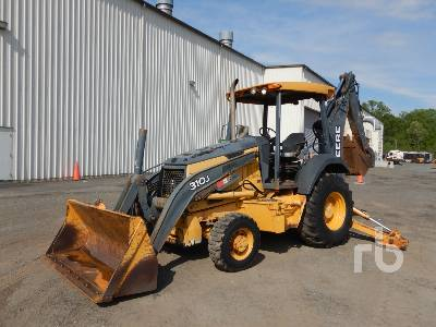 2007 JOHN DEERE 310SJ 4x4 Loader Backhoe