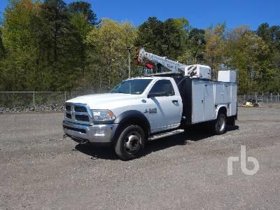 2015 RAM 5500HD Service Truck