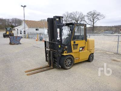 2015 CATERPILLAR GC70K 14650 Lb Forklift