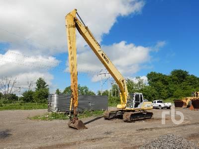 2000 KOBELCO SK220LC Mark IV Long Reach Hydraulic Excavator
