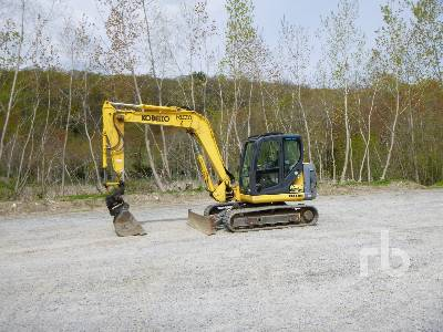 2012 KOBELCO SK80CS-2 Acera Midi Excavator (5 - 9.9 Tons)