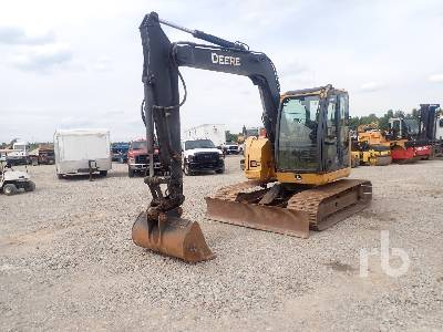 2011 JOHN DEERE 75D Midi Excavator (5 - 9.9 Tons)