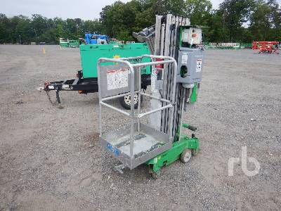 2012 GENIE AWP30S Electric Personnel Lift Material Lift