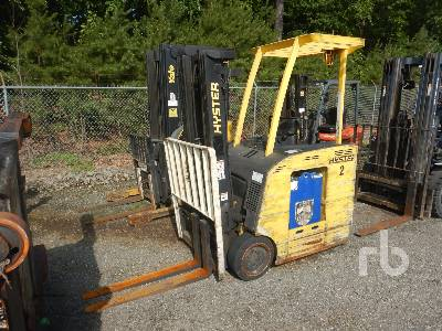 2004 HYSTER E35HSD-18 3400 Lb Stand Up Electric Forklift