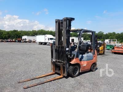 2001 TOYOTA 7FGCU25 5000 Lb Forklift