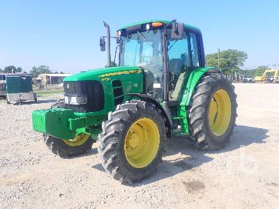 2009 JOHN DEERE 6430 MFWD Tractor