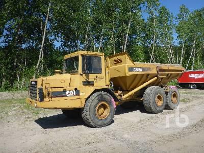 1989 CATERPILLAR D300B 6x6 Articulated Dump Truck