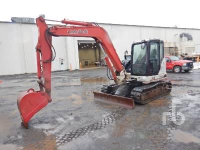 2015 LINK-BELT 80X3 Spin Ace Midi Excavator (5 - 9.9 Tons)