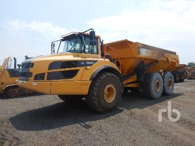 2015 VOLVO A40G 6x6 Articulated Dump Truck