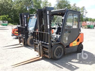 2015 DOOSAN D25S-7 5000 Lb Forklift