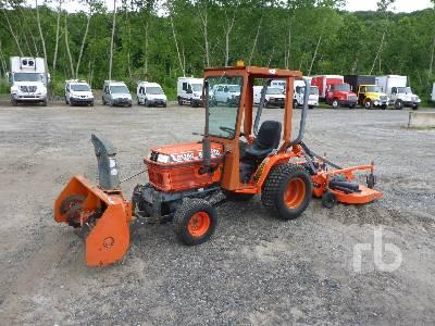 KUBOTA B1750 HSD 4WD Utility Tractor