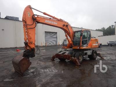 2007 DOOSAN DX190 4x4 Mobile Excavator
