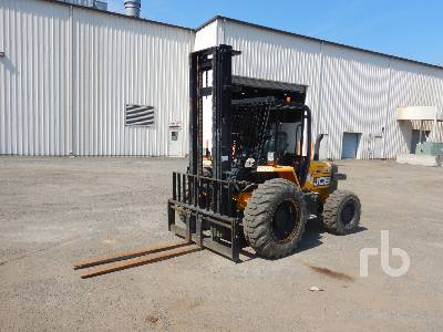 2014 JCB 930 6000 Lb Rough Terrain Forklift