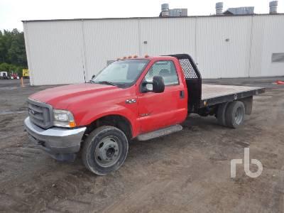 2001 FORD F550 XL Flatbed Truck