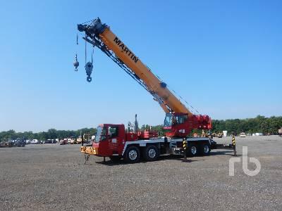2002 GROVE TMS700E 50 Ton 8x4x4 Hydraulic Truck Crane