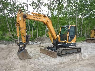 2014 HYUNDAI ROBEX 80CR-9 Midi Excavator (5 - 9.9 Tons)