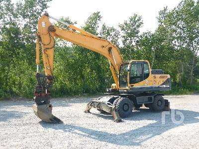 2014 HYUNDAI ROBEX 210W-9A 4x4 Mobile Excavator