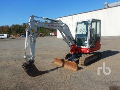 2019 TAKEUCHI TB235-2 Mini Excavator (1 - 4.9 Tons)