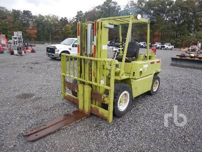 1980 CLARK C500Y100D 10000 Lb Forklift