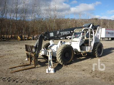 2003 TEREX TH1048C 10000 Lb Telescopic Forklift
